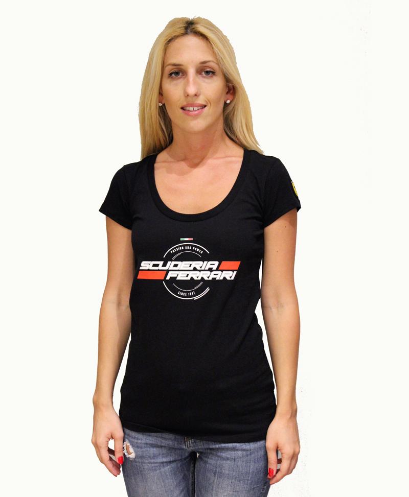 Ferrari Women T Shirt Initiatives Plus Trading L L C