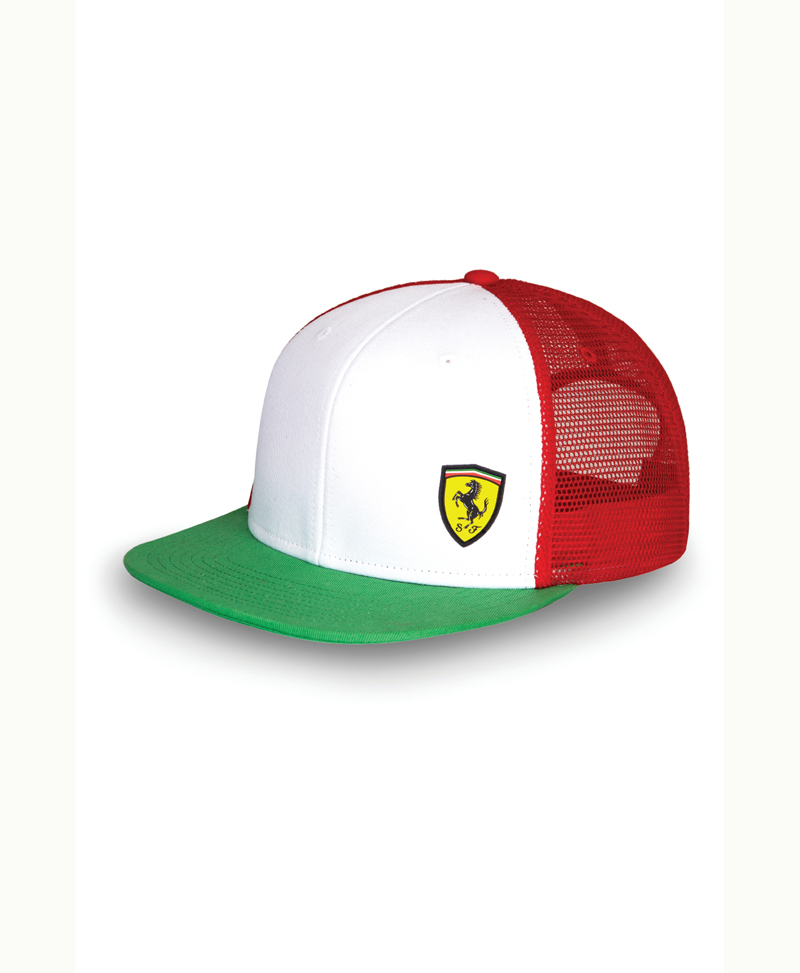 flatbrim in lyst black bucket lifestyle scuderia for ferrari accessories flat puma brim men hat ls