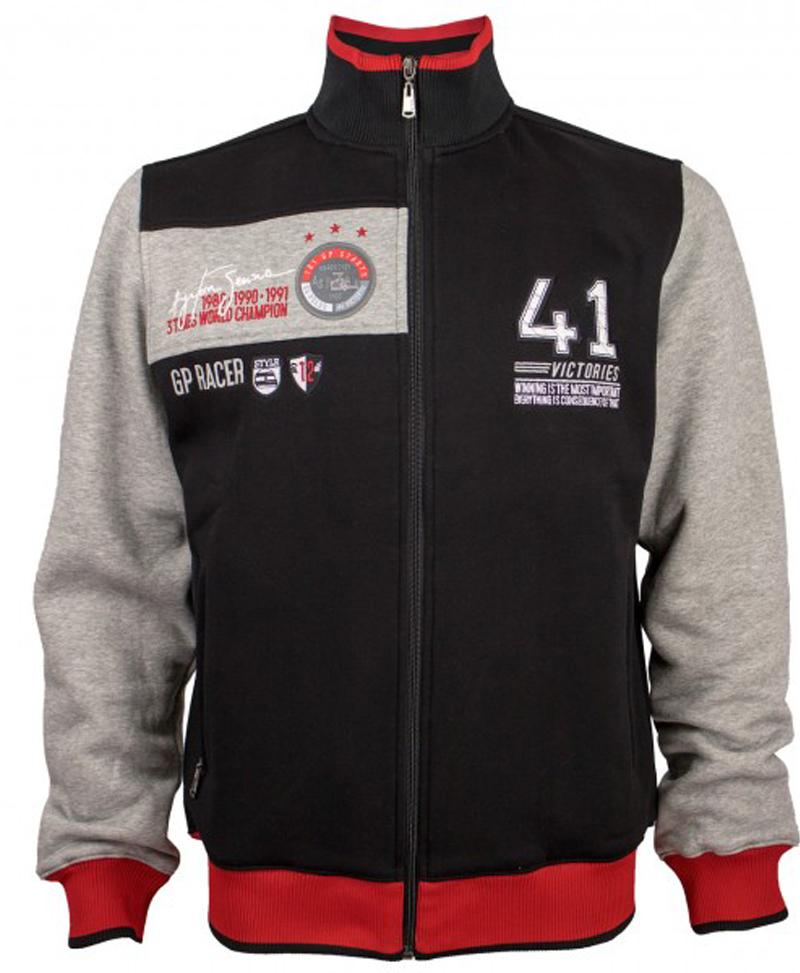 f622f4c9295 Ayrton Senna Sweat Jacket 41 Victories - Initiatives Plus Trading L.L.C
