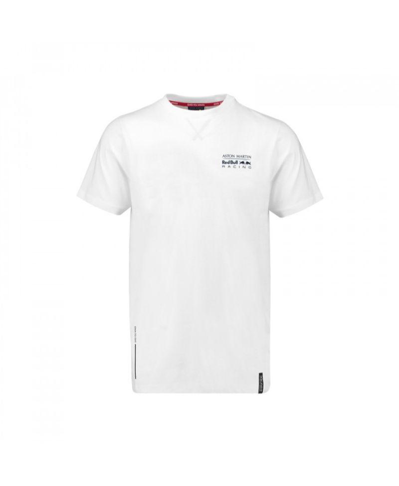 Men S Logo T Shirt White 2018 Aston Martin Red Bull Racing Initiatives Plus Trading L L C